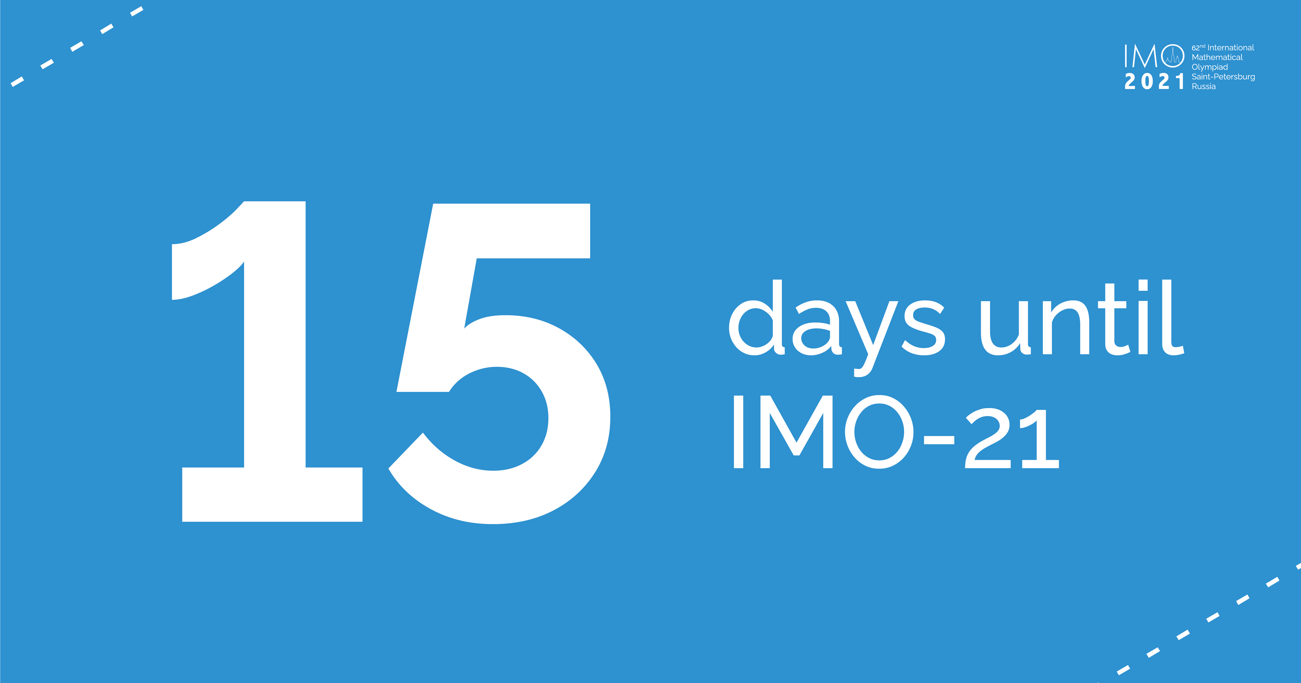 15 days before the grand opening ceremony of the 62nd International Mathematical Olympiad!