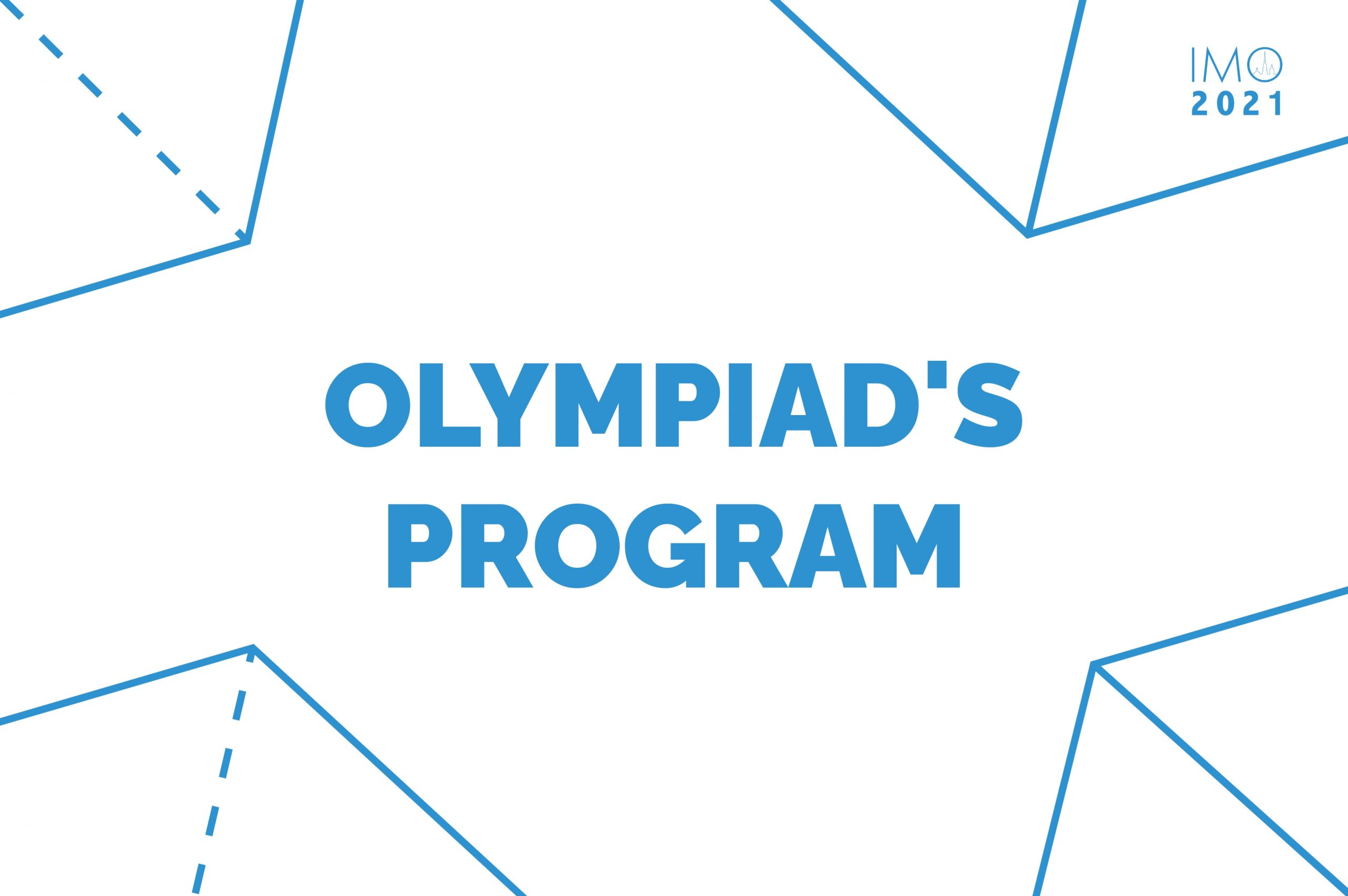 Participants of the 62nd International Mathematical Olympiad will receive lectures with experts and online excursions.